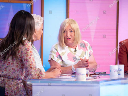 Christine Lampard, Denise Welch, Kellie Maloney