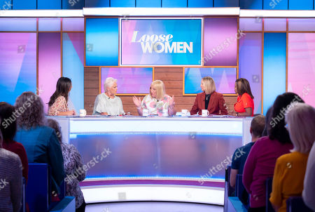 Christine Lampard, Denise Welch, Kellie Maloney, Carol McGiffin and Kelle Bryan