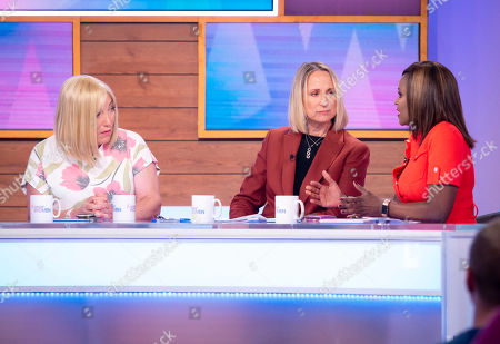 Kellie Maloney, Carol McGiffin and Kelle Bryan