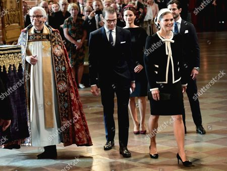 Prince Daniel, Crown Princess Victoria, Princess Sofia of Sweden and Prince Carl Philip