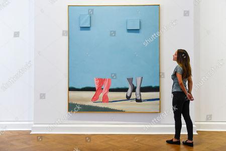 Editorial image of James Rosenquist exhibition, Galerie Thaddaeus Ropac, Mayfair, London, UK - 10 Sep 2019