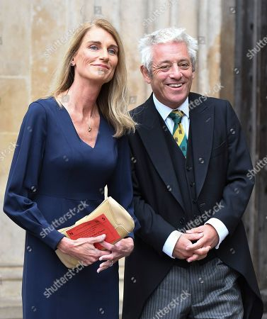 Stock Picture of John Bercow and Sally Bercow