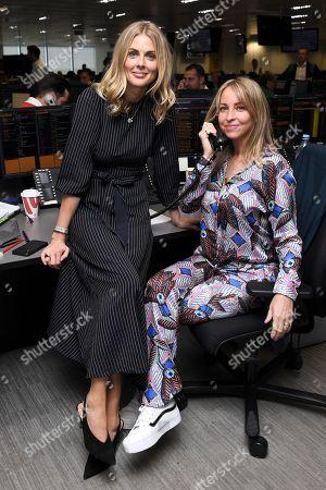 Donna Air and Natalie Appleton