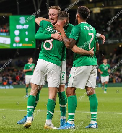 Editorial image of Three International Friendly, Aviva Stadium, Dublin  - 10 Sep 2019