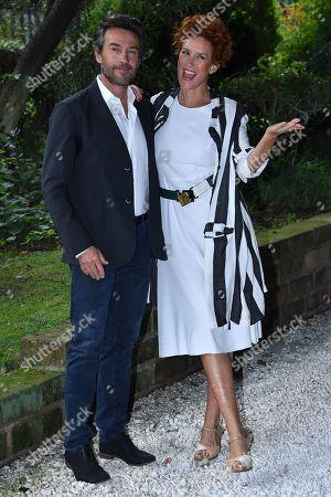 Alessio Boni Lucrezia and Lante Della Rovere