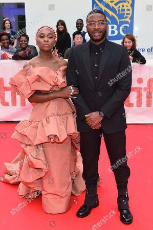 Cynthia Erivo and Zackary Momoh