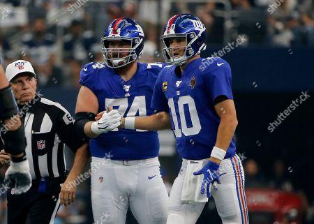 Editorial image of Giants Cowboys Football, Arlington, USA - 08 Sep 2019