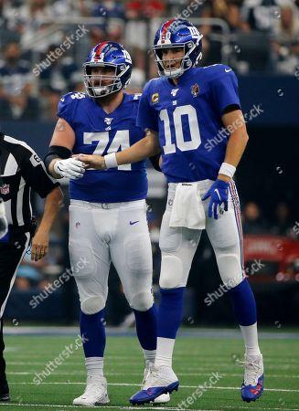 Editorial picture of Giants Cowboys Football, Arlington, USA - 08 Sep 2019