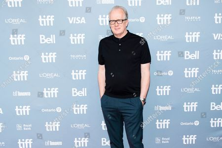"Stock Image of Tracy Letts attends a press conference for ""Ford v Ferrari"" on day six of the Toronto International Film Festival at the TIFF Bell Lightbox, in Toronto"