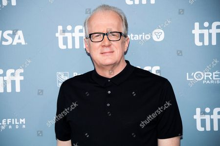 "Stock Picture of Tracy Letts attends a press conference for ""Ford v Ferrari"" on day six of the Toronto International Film Festival at the TIFF Bell Lightbox, in Toronto"