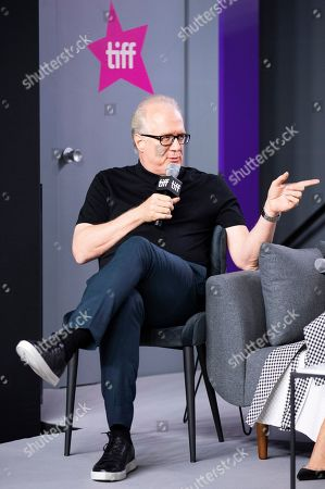 "Stock Photo of Tracy Letts attends a press conference for ""Ford v Ferrari"" on day six of the Toronto International Film Festival at the TIFF Bell Lightbox, in Toronto"