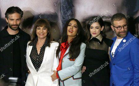 Editorial picture of Monarca Film Salma Hayek, Mexico City, Mexico - 10 Sep 2019