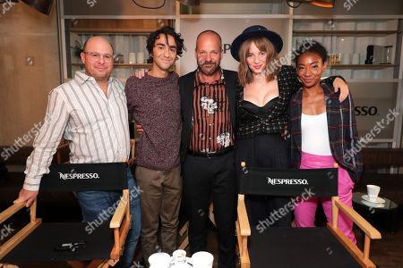 Stock Picture of Marc Meyers, Director, Alex Wolff, Peter Sarsgaard, Maya Thurman Hawke, Betty Gabriel
