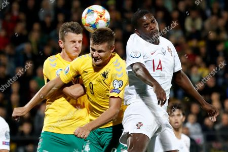Editorial image of Lithuania Portugal Euro 2020 Soccer - 10 Sep 2019