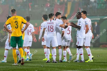Editorial photo of Lithuania vs Portugal, Vilnius - 10 Sep 2019