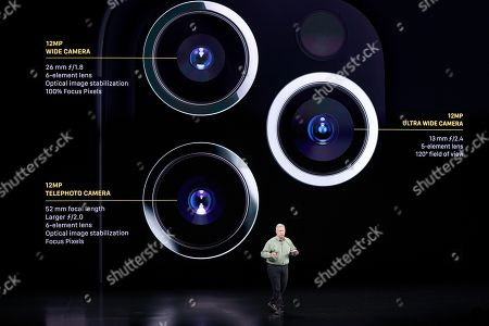 Editorial picture of Apple Event, Cupertino, USA - 10 Sep 2019