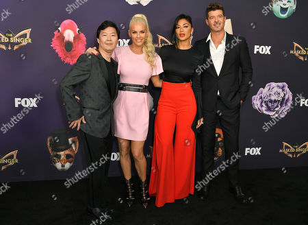 Ken Jeong, Jenny McCarthy, Nicole Scherzinger and Robin Thicke