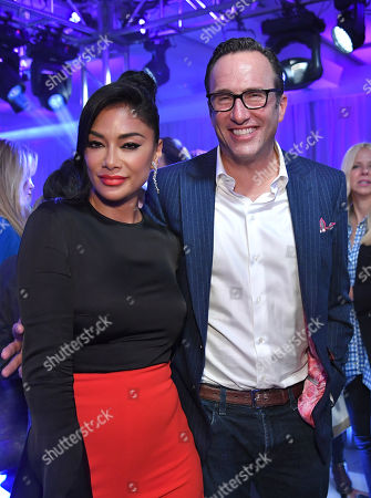 Nicole Scherzinger and Charlie Collier