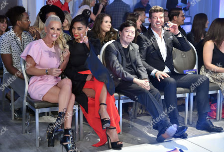 Jenny McCarthy, Nicole Scherzinger, Ken Jeong and Robin Thicke