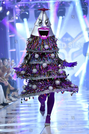 'The Tree' on the catwalk