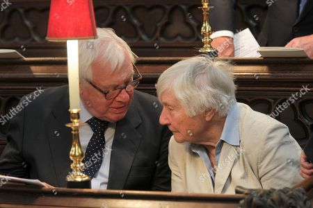 Stock Image of Chris Patten and Dame Shirley Williams