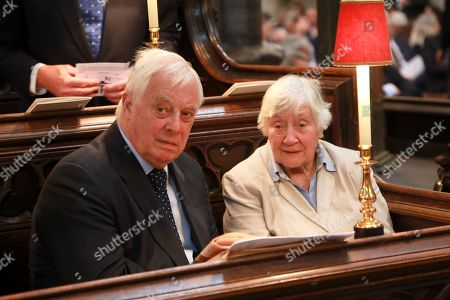 Chris Patten and Dame Shirley Williams