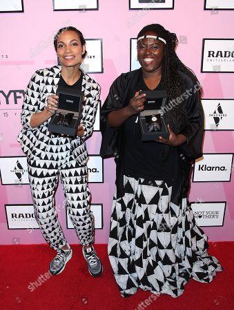 Rosario Dawson and Abrima Erwiah