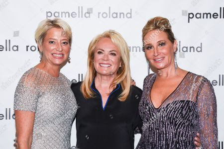Dorinda Medley, Pamella Roland and Sonja Morgan