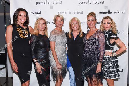 LuAnn de Lesseps, Ramona Singer, Dorinda Medley, Pamella Roland, Sonja Morgan and Tinsley Mortimer
