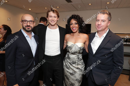 Peter Kujawski, Chairman of Focus Features, Joe Alwyn, Debra Martin Chase, Producer, Robert Walak, President of Focus Features