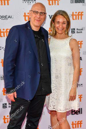 Stock Image of Oren Moverman and Celine Rattray