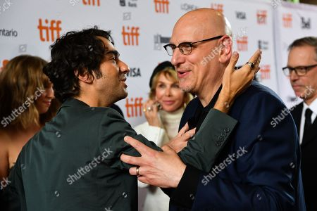 Stock Image of Alex Wolff and Oren Moverman