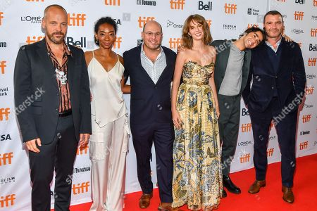 Peter Sarsgaard, Betty Gabriel, Marc Meyers, Maya Thurman Hawke, Alex Wolff and Liev Schreiber