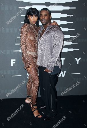 Renell Medrano and ASAP Ferg