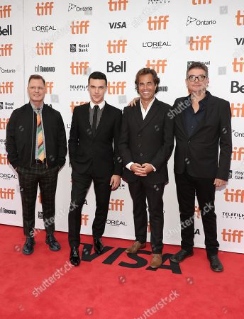 CEO and Founder of LD Entertainment Mickey Liddell, Finn Wittrock, Director Rupert Goold, Renee Zellweger and Producer David Livingston