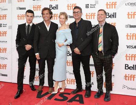 Finn Wittrock, Director Rupert Goold, Renee Zellweger, Producer David Livingstone and CEO and Founder of LD Entertainment Mickey Liddell