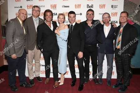 Co-President at Roadside Attractions Eric Darbeloff, Executive Producer Howard Cohen, Director Rupert Goold, Renee Zellweger, Finn Wittrock, Producer David Livingstone, Producer Cameron McCracken and CEO and Founder of LD Entertainment Mickey Liddell