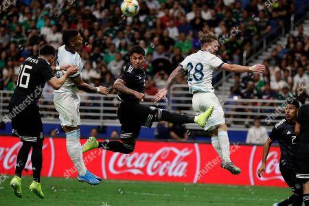 Editorial picture of Argentina Mexico Soccer, San Antonio, USA - 10 Sep 2019