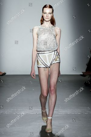 Editorial photo of Custo Barcelona show, Runway, Spring Summer 2020, New York Fashion Week, USA - 09 Sep 2019