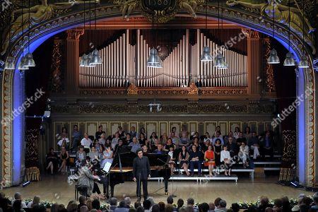 Editorial photo of George Enescu International Festival 2019 in Bucharest, Romania - 10 Sep 2019