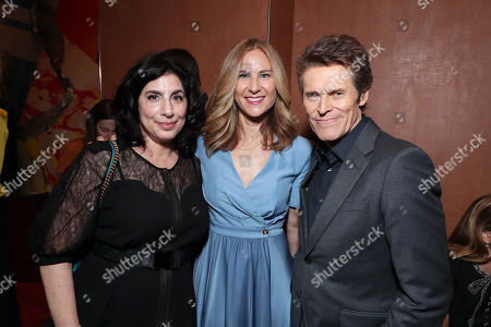 Sue Kroll, Rachel Shane, Producer, Willem Dafoe
