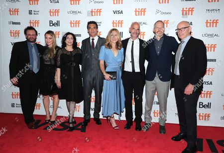 Adrian Alperovich, Blair Rich, President of Worldwide Marketing for Warner Bros. Pictures Group and Warner Bros. Home Entertainment, Sue Kroll, Michael Bederman, Producer, Rachel Shane, Producer, Bill Migliore, Producer, Toby Emmerich, Chairman of Warner Bros. Pictures Group, Kevin McCormick
