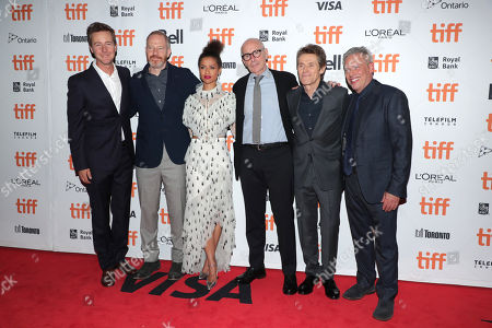 Edward Norton, Writer/Director/Producer, Toby Emmerich, Chairman of Warner Bros. Pictures Group, Gugu Mbatha-Raw, Kevin McCormick, Willem Dafoe, Josh Pais