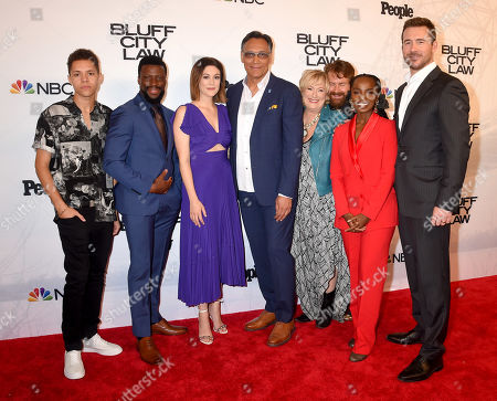 Editorial picture of 'Bluff City Law' premiere, Memphis, USA - 10 Sep 2019