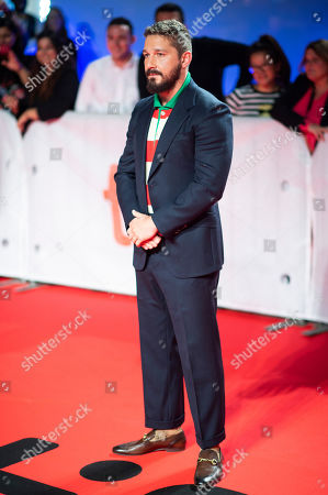 "Shia LeBeouf attends a premiere for ""Honey Boy"" on day six of the Toronto International Film Festival at Roy Thomson Hall, in Toronto"