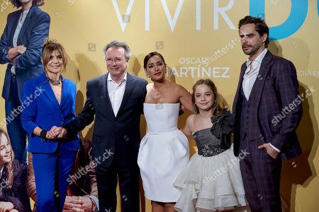 Maria Ripoll, Oscar Martinez, Inma Cuesta, Mafalda Carbonell and Nacho Lopez