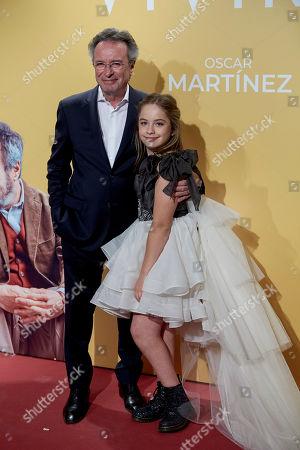 Editorial photo of 'Vivir Dos Veces' film premiere, Arrivals, Madrid, Spain - 05 Sep 2019