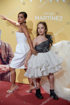 Editorial picture of 'Vivir Dos Veces' film premiere, Arrivals, Madrid, Spain - 05 Sep 2019