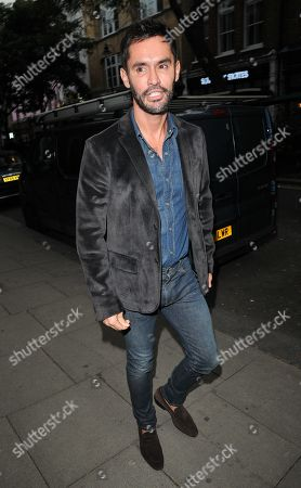 Editorial image of h100 Awards 2019, Arrivals, h Club, London, UK - 10 Sep 2019