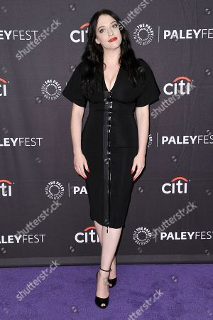 "Kat Dennings attends Hulu's ""Dollface"" screening and panel during the 2019 PaleyFest Fall TV Previews at The Paley Center for Media, in Beverly Hills, Calif"
